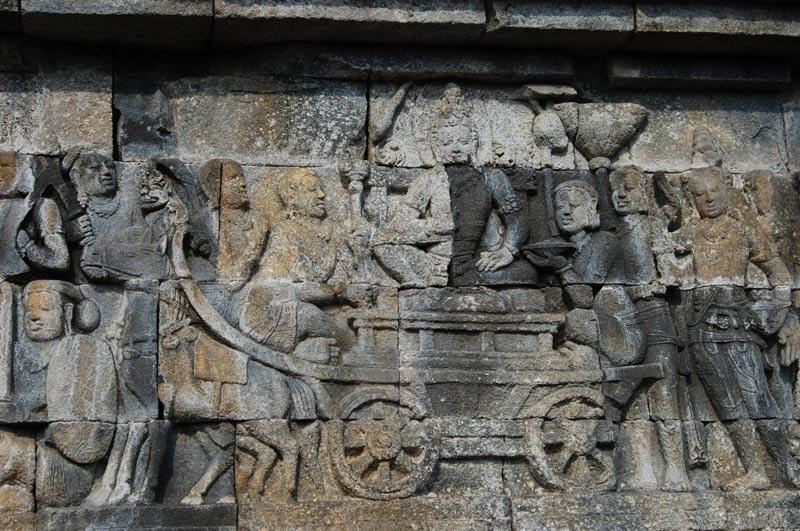 Borobodur, Tempel, temple, Yogyakarta, Java, Indonesien, Stein, Relief, Reiseberichte, Foto: Heiko Meyer, www.wo-der-pfeffer-waechst.de