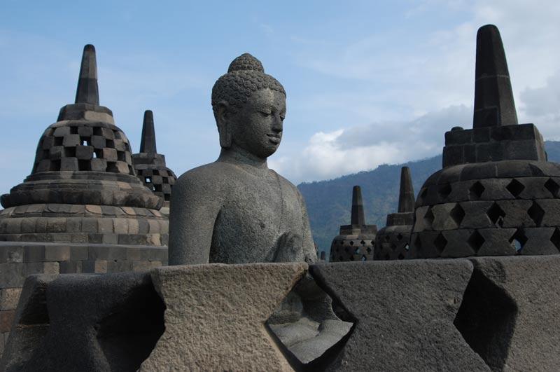 Borobodur, Tempel, temple, Yogyakarta, Java, Indonesien, Reiseberichte, Foto: Heiko Meyer, www.wo-der-pfeffer-waechst.de