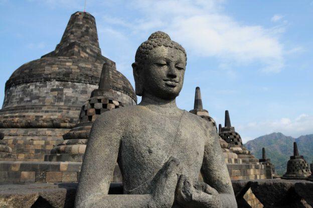 Borobudur, Tempel, Reisebericht, Java, Indonesien, Yogyakarta, www.wo-der-pfeffer-waechst.de