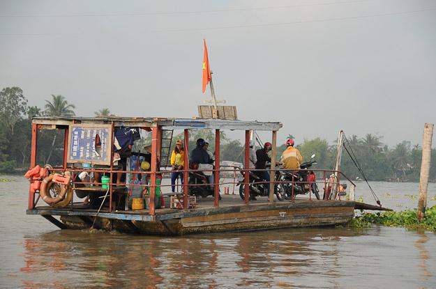 Vietnam, Mekong-Delta, Fähre, Ferry, www.wo-der-pfeffer-waechst.de