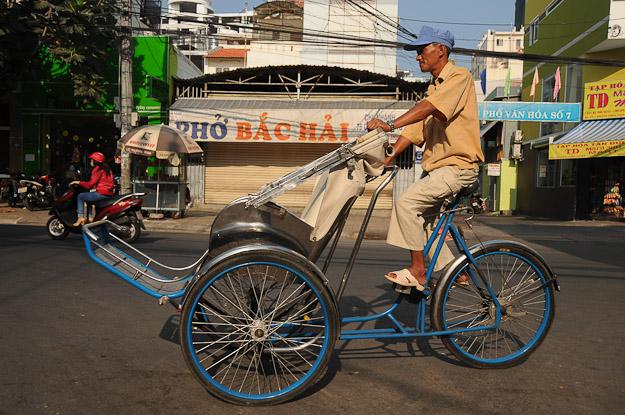 Vietnam, Nha Trang, Cyclo, www.wo-der-pfeffer-waechst.de