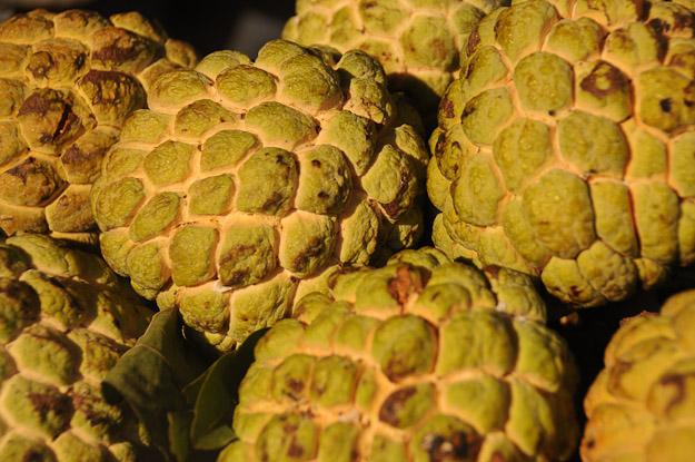 Vietnam, Nha Trang, Markt, Zimtapfel, Custard Apple, www.wo-der-pfeffer-waechst.de