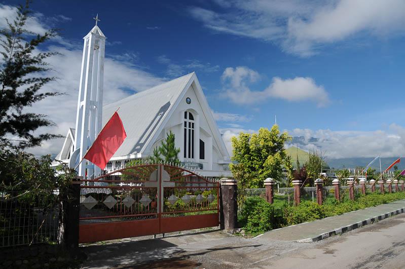 Indonesien, West-Papua, Baliem-Tal, valley, Wamena, Kirche, church, Reisebericht, www.wo-der-pfeffer-waechst.de
