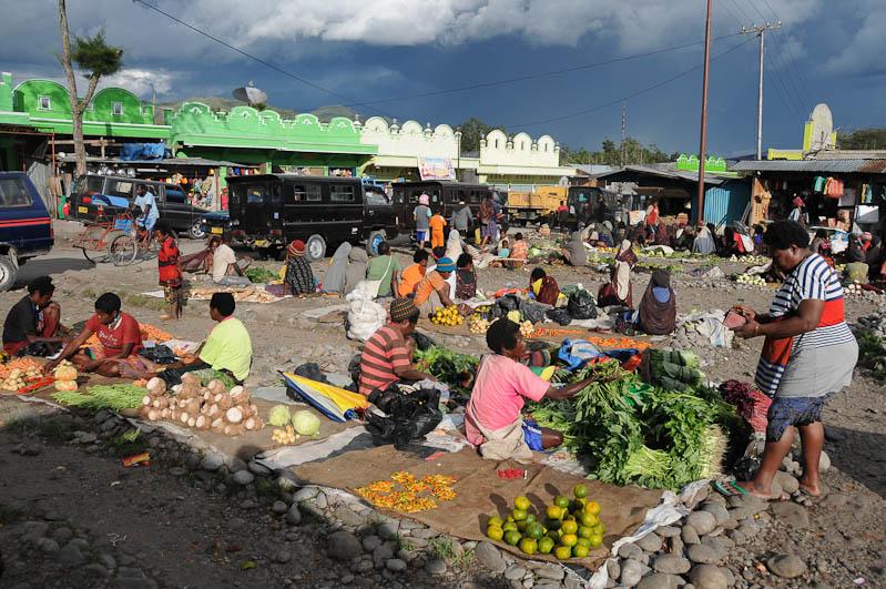 Indonesien, West-Papua, Baliem-Tal, valley, Wamena, Markt, market, Reisebericht, www.wo-der-pfeffer-waechst.de