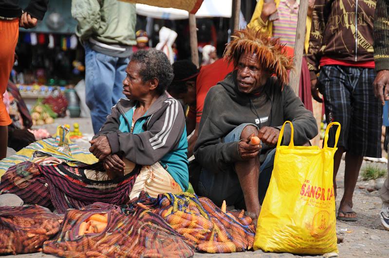 Indonesien, West-Papua, Baliem-Tal, valley, Wamena, Markt, Noken, Reisebericht, www.wo-der-pfeffer-waechst.de