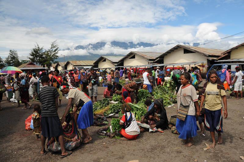 Indonesien, West-Papua, Baliem-Tal, valley, Wamena, Markt, Reisebericht, www.wo-der-pfeffer-waechst.de