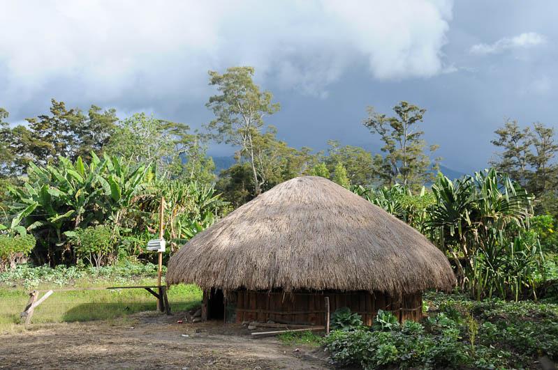 Indonesien, West-Papua, Baliem-Tal, valley, Wamena, Dani, Tribe, Stammesdorf, Rundhütte, Haus, Reisebericht, www.wo-der-pfeffer-waechst.de