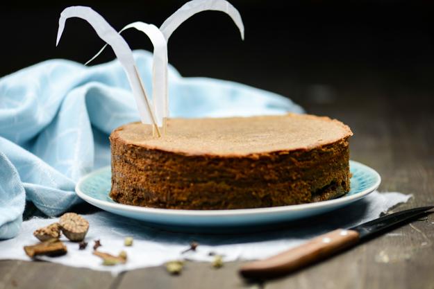 Kue Lapis Legit, indonesischer Schuchtkuchen, Indonesien, Kochen, Rezepte, Süßspeisen, vegetarische, Spekkoek, www.wo-der-pfeffer-waechst.de