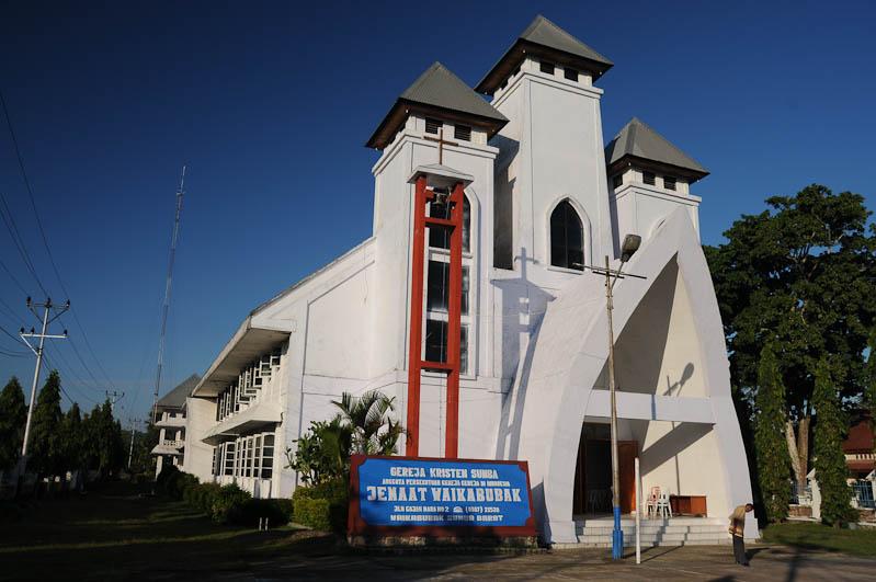 Waikabubak, Sumba, Insel, Indonesien, Kirche, church, www.wo-der-pfeffer-waechst.de