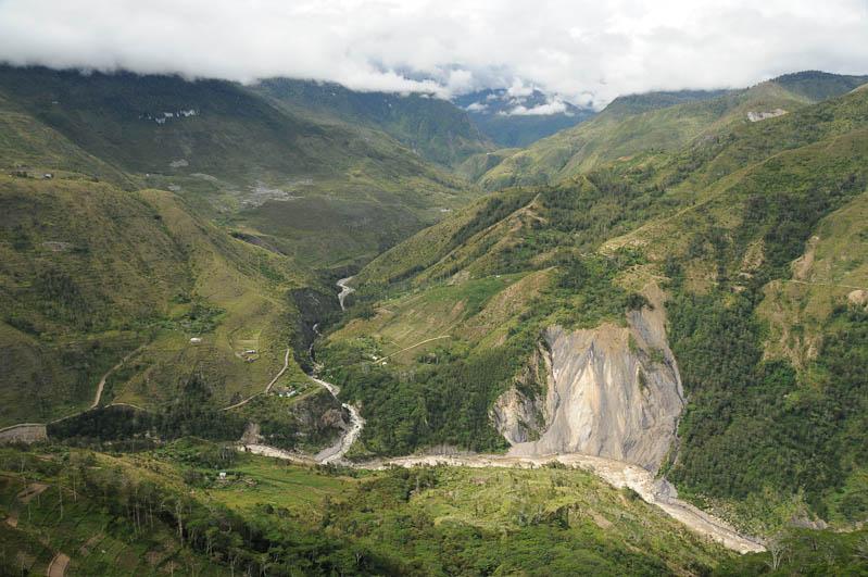 Indonesien, West-Papua, Wamena, Baliem-Tal, valley, Trekking, Baliem-Fluss, www.wo-der-pfeffer-waechst.de