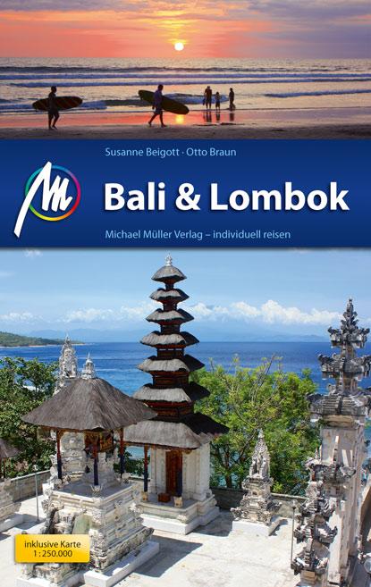 Buchbesprechung, Rezension, Bali & Lombok, Gilis,  Reiseführer, Travel Guide, Indonesien, Michael Müller Verlag, Susanne Beigott, Otto Braun, www.wo-der-pfeffer-waechst.de