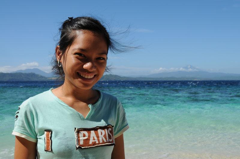 Frau, Pulau Bangka, Island, Insel, Nord-Sulawesi, Indonesien, Indonesia, Reiseberichte, Foto: Heiko Meyer, www.wo-der-pfeffer-waechst.de