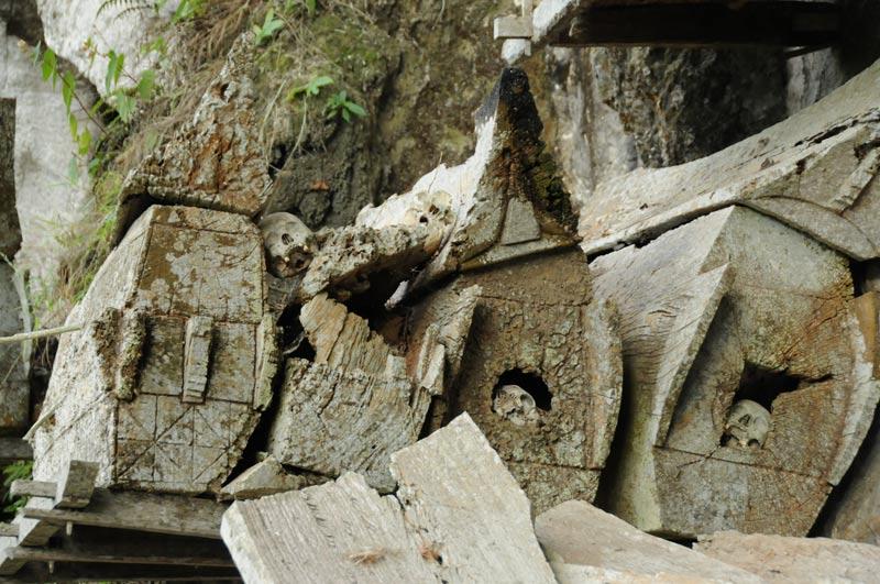 Höhlengrab, Sarg, Begräbniszeremonie, Tana Toraja, Land, Sulawesi, Island, Insel, Indonesien, Indonesia, Totenkult, Reiseberichte, Foto: Heiko Meyer, www.wo-der-pfeffer-waechst.de