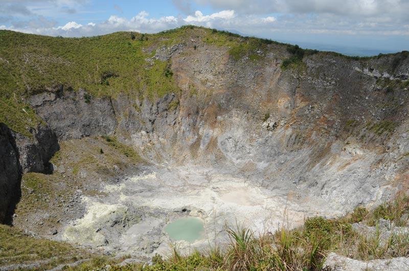Mount Mahawu, Vulkan, volcano, Krater, Tomohon, Minahasa-Hochland, Nord-Sulawesi, Insel, Indonesien, Indonesia, Reiseberichte, Foto: Heiko Meyer, www.wo-der-pfeffer-waechst.de