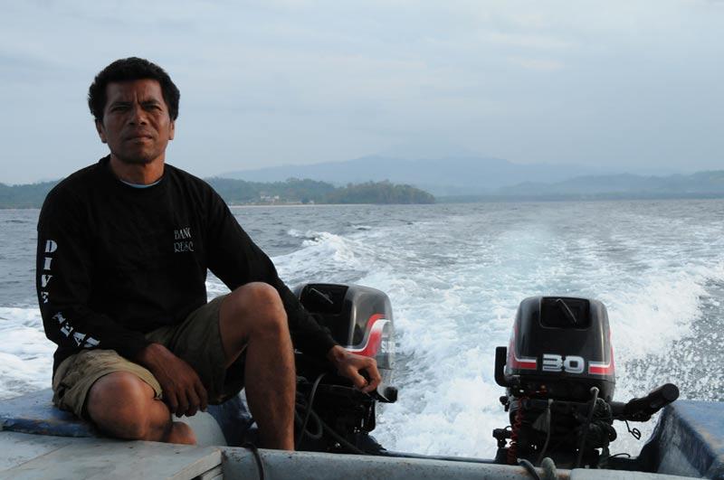 Pulau Bangka, Insel, Nord-Sulawesi, Boot, Indonesien, Indonesia, Reiseberichte, Foto: Heiko Meyer, www.wo-der-pfeffer-waechst.de