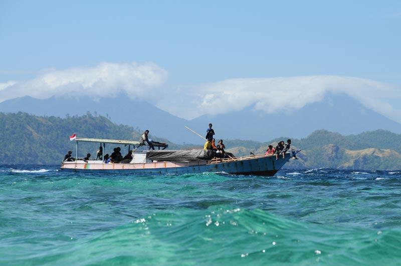 Pulau Bangka, Island, Insel, Nord-Sulawesi, Vulkane, Boot, Indonesien, Indonesia, Reiseberichte, Foto: Heiko Meyer, www.wo-der-pfeffer-waechst.de