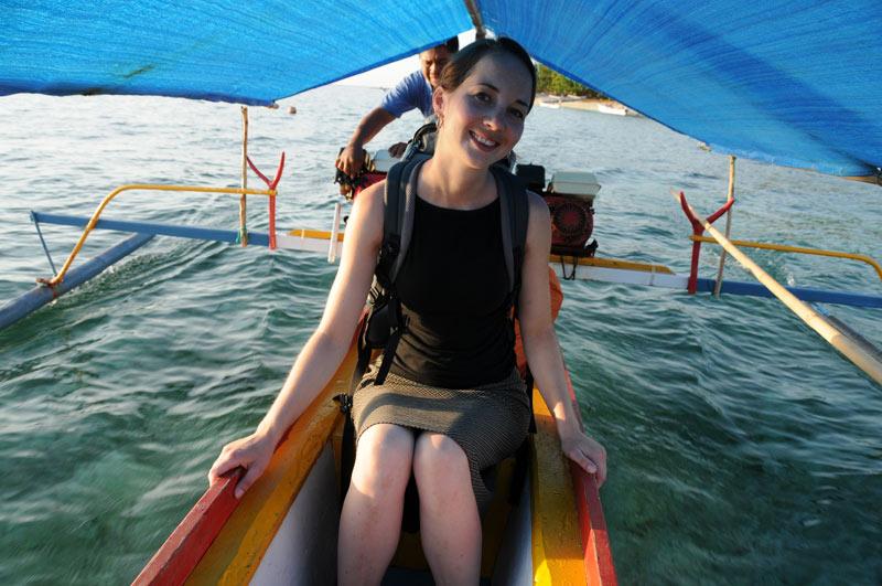 Pulau Siladen, Island, Insel, Auslegerboot, Manado, Nord-Sulawesi, Indonesien, Indonesia, Reiseberichte, Foto: Heiko Meyer, www.wo-der-pfeffer-waechst.de