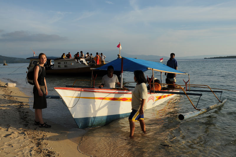 Pulau Siladen, Island, Insel, Boot, Manado, Nord-Sulawesi, Indonesien, Indonesia, Reiseberichte, Foto: Heiko Meyer, www.wo-der-pfeffer-waechst.de