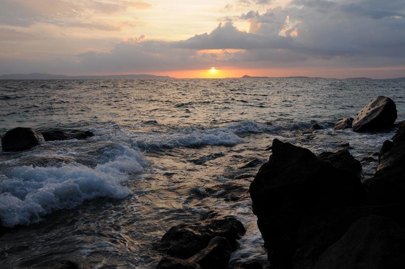 Sonnenuntergang, sunset, Abendstimmung, Pulau Bangka, Island, Insel, Nord-Sulawesi, Indonesien, Indonesia, Reiseberichte, Foto: Heiko Meyer, www.wo-der-pfeffer-waechst.de