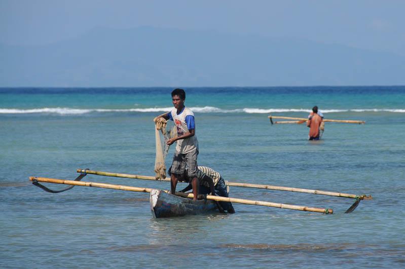 Indonesien, Sumba, Insel, Strände, Beach, Pantai Rua, Strand, Fischerboot, Reisebericht, www.wo-der-pfeffer-waechst.de