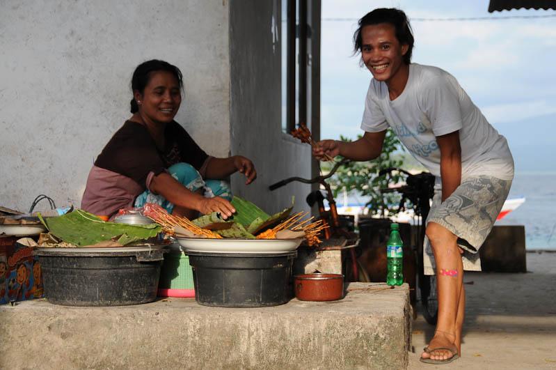 Garküche, Streetfood, Gili Trawangan, Gili-Inseln, Gilis, Lombok, Indonesien, Indonesia, Reiseberichte, www.wo-der-pfeffer-waechst.de