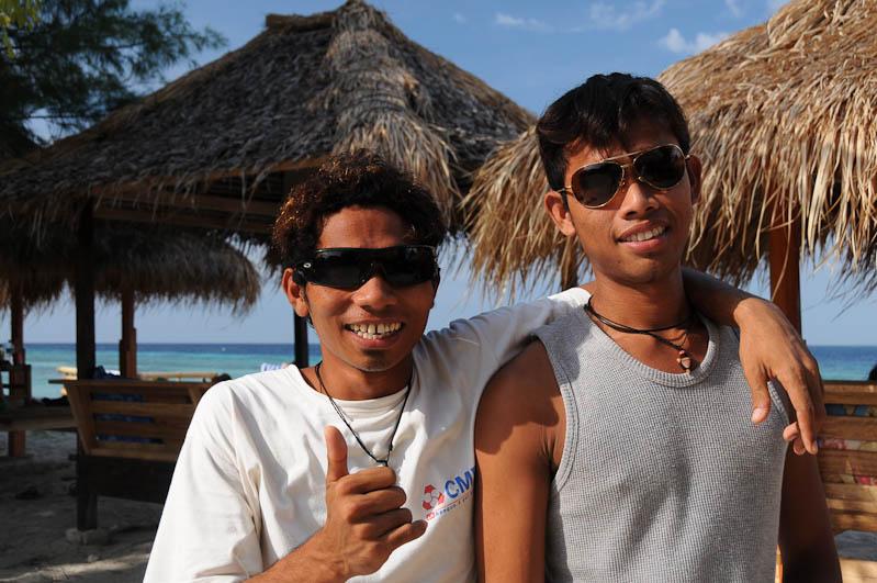 Gili Trawangan, Locals, Gili-Inseln, Gilis, Schnorcheln, Lombok, Indonesien, Indonesia, Reiseberichte, www.wo-der-pfeffer-waechst.de