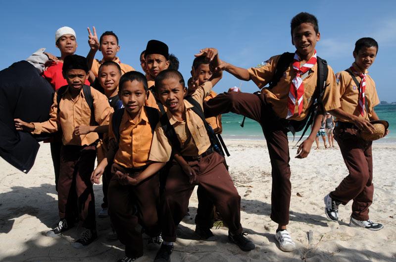 Indonesien, Indonesia, Insel, Lombok, Kuta, Strände, Beach, Schüler, Reiseberichte, Foto: Heiko Meyer, www.wo-der-pfeffer-waechst.de