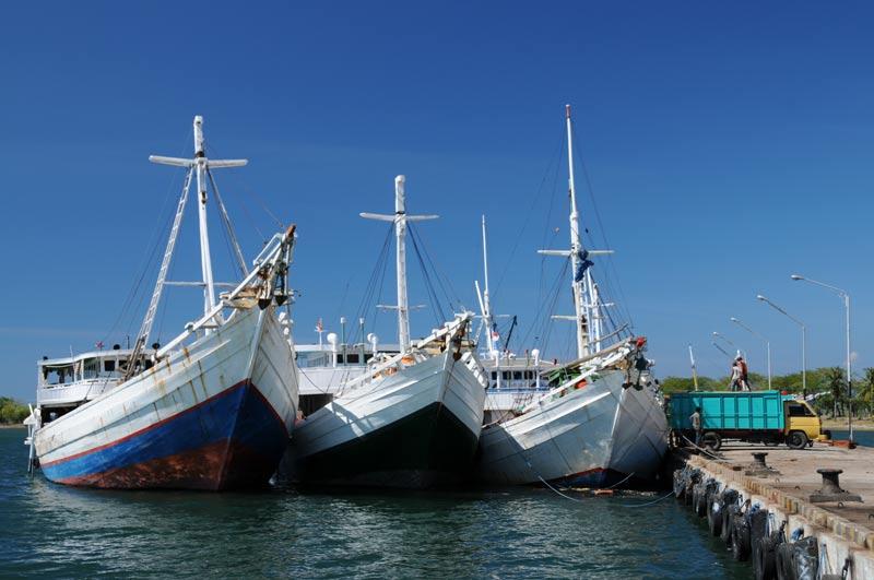 Labuhan Lombok, Hafen, Schiffe, Indonesien, Indonesia, Insel, Reiseberichte, www.wo-der-pfeffer-waechst.de