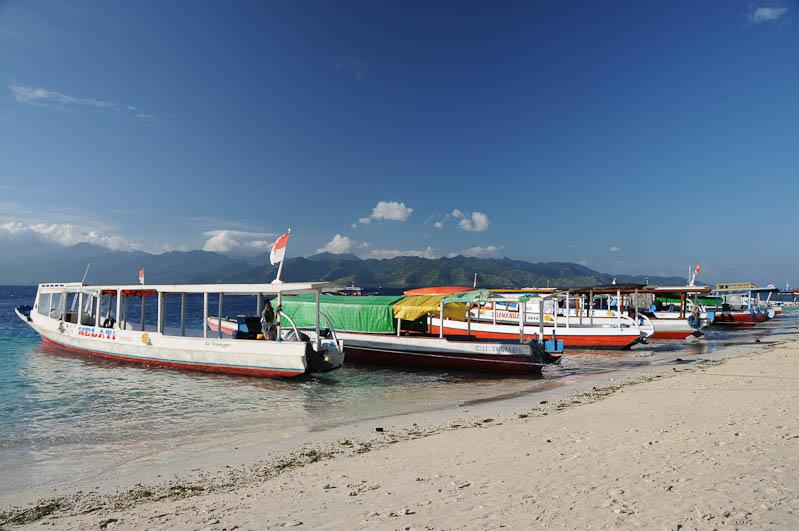 Lombok, Gili Trawangan, Bangsal, Boote, Fähre, Indonesien, Indonesia, Insel, Reiseberichte, www.wo-der-pfeffer-waechst.de