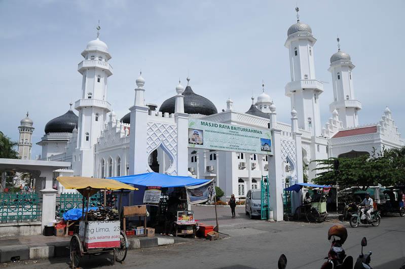 Indonesien, Indonesia, Sumatra, Banda Aceh, Masjid, Raya-Baiturrahman-Moschee, mosque, Islam, Religion, Scharia, Reiseberichte, www.wo-der-pfeffer-waechst.de
