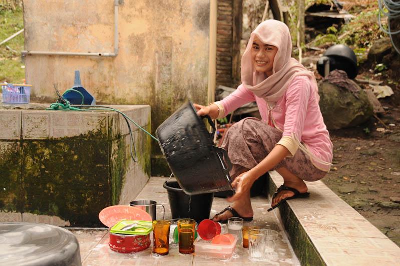 Iboih Beach, Pulau Weh, Insel, Sabang, Locals, Frau, Sumatra, Banda Aceh, Indonesien, Indonesia, Reiseberichte, www.wo-der-pfeffer-waechst.de