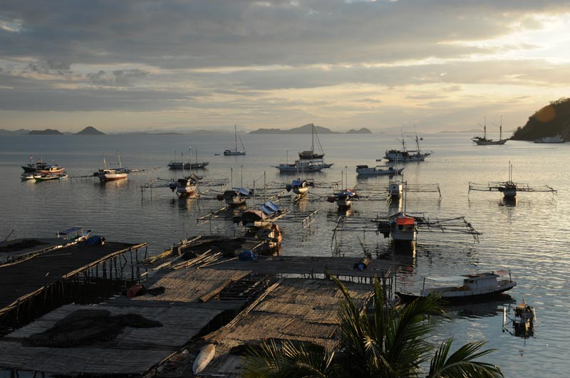 Indonesien, Indonesia, Labuan Bajo, kleine Sunda, vorgelagerte Inseln, Pulau, West-Flores, Abendstimmung, Reiseberichte, Foto: Heiko Meyer, www.wo-der-pfeffer-waechst.de
