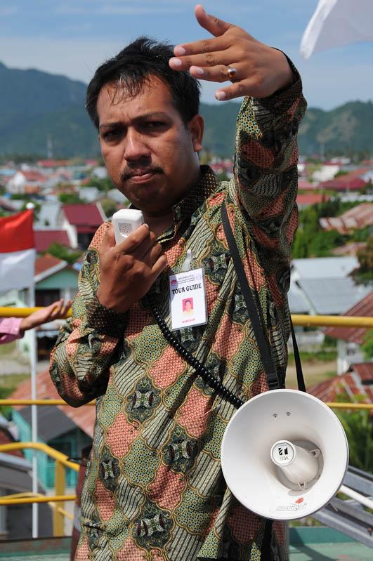 Mahlizar, Aceh Tourist Guide Association, Indonesien, Indonesia, Sumatra, Banda Aceh, Museum, Tsunami, Reiseberichte, www.wo-der-pfeffer-waechst.de