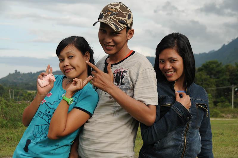 Bitte lächeln, Lake, Toba-See, Danau, Batak, Pulau, Samosir, Tuk Tuk, Nord-, Sumatra, Indonesien, Indonesia, Reisebericht, www.wo-der-pfeffer-waechst.de