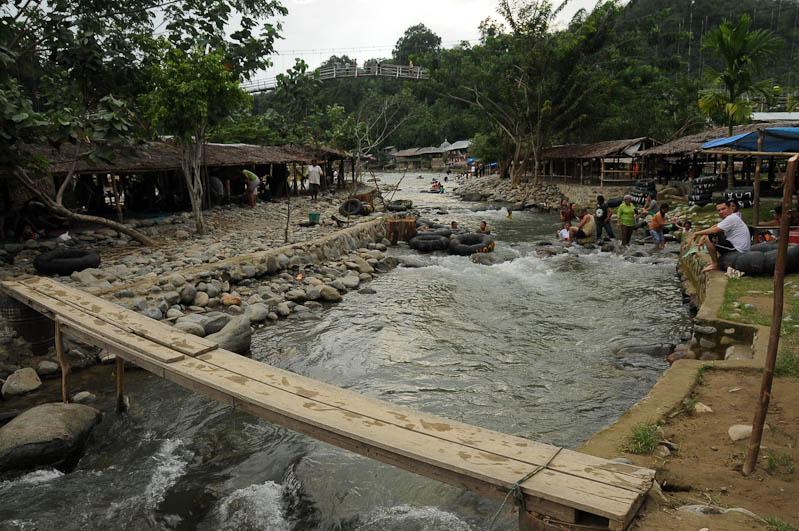 Bukit Lawang, Fluss, Gunung-Leuser-Nationalpark, Nord-Sumatra, Indonesien, Indonesia, Reisebericht, www.wo-der-pfeffer-waechst.de