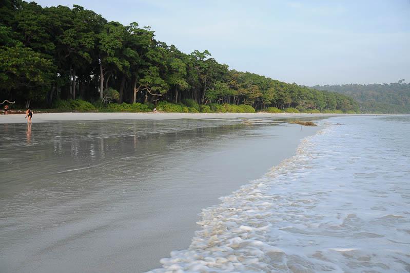 Havelock Island, Radhanagar, Beach Number 7, Strand, Strände, Port Blair, Indien, Andamanen und Nicobaren, Inseln, Reiseberichte, Foto: Heiko Meyer, www.wo-der-pfeffer-waechst.de