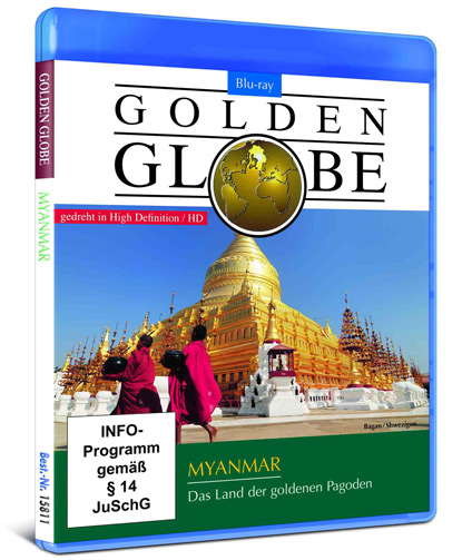 Bagan, Golden Globe: Myanmar – Das Land der goldenen Pagoden, Blu-ray Disc, Komplett-Media, Filmtipp, Verlosung, Burma, Birma, www.wo-der-pfeffer-waechst.de