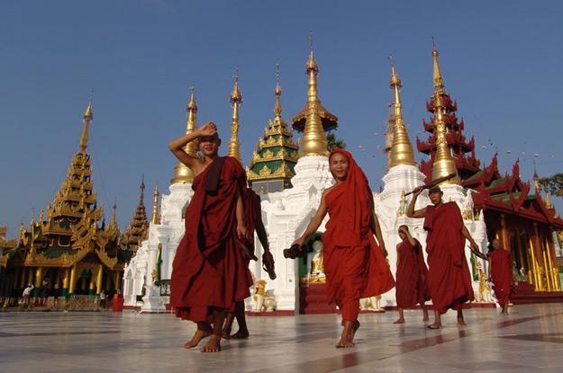 Yangon, Rangun, Rangoon, Shwedagon, Pagode, Pagoda, Tempel, temple, Myanmar, Burma, Birma, Reiseberichte, Blog, www.wo-der-pfeffer-waechst.de