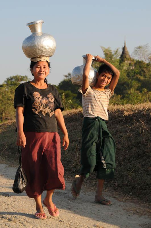 Mrauk U, Locals, Rakhine-Staat, State, Division, Myanmar, Burma, Birma, Reisebericht, www.wo-der-pfeffer-waechst.de