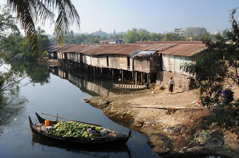 Mrauk U, Tempel, Paya, Pagoden, Rakhine-Staat, State, Division, Fluss, Landschaft, Myanmar, Burma, Birma, Reisebericht, www.wo-der-pfeffer-waechst.de