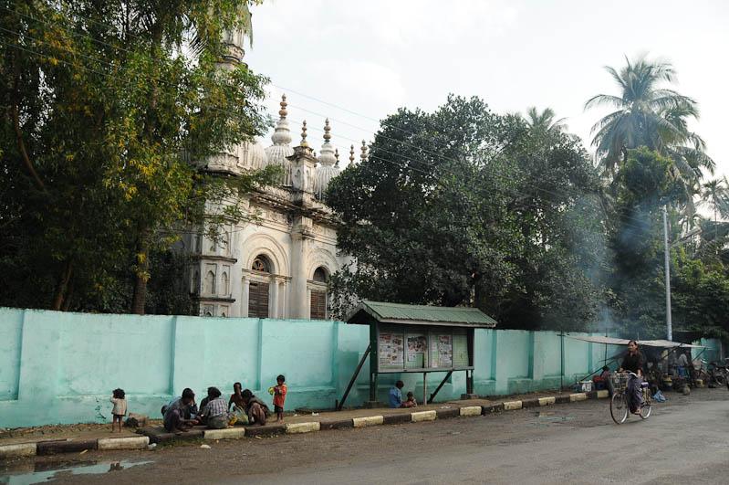 Sittwe, Moschee, mosque, Rohingya, Akyab, Rakhine-Staat, State, Division, Myanmar, Burma, Birma, Reisebericht, www.wo-der-pfeffer-waechst.de