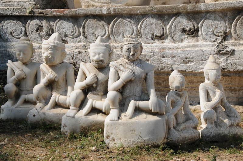 Hsinbyume-Pagode, Pagoda, Tempel, Detail, Mingun, Myanmar, Burma, Birma, Reisebericht, www.wo-der-pfeffer-waechst.de