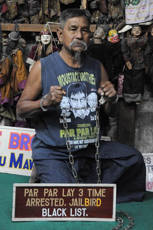 Moustache Brothers, Par Par Lay, Zwangsarbeit, Comedy, comedian, Komiker, Mandalay, Myanmar, Burma, Birma, Reisebericht, www.wo-der-pfeffer-waechst.de