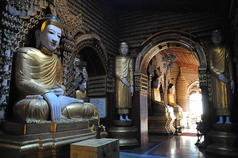 Monywa, Thanboddhay-Pagode, Pagoda, Tempel, Buddha-Statuen, Myanmar, Burma, Birma, Reisebericht, www.wo-der-pfeffer-waechst.de