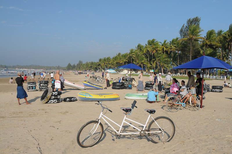 Chaung Tha Beach, Strand, Atmosphäre, Myanmar, Burma, Birma, Golf von Bengalen, Reisebericht, www.wo-der-pfeffer-waechst.de
