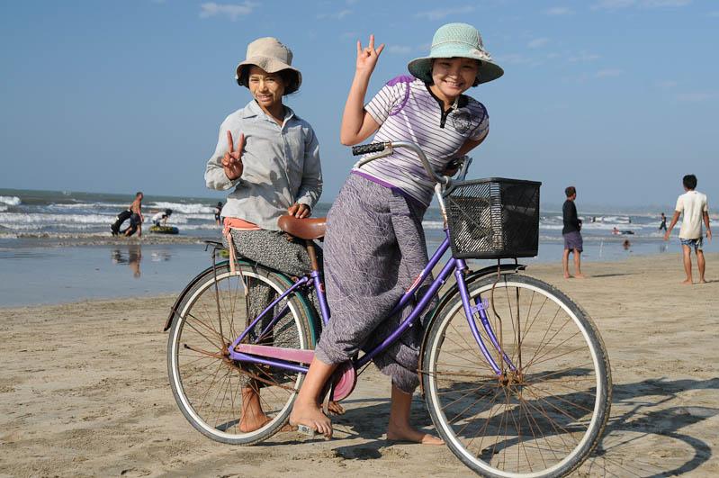 Chaung Tha Beach, Strand, Fahrrad, Myanmar, Burma, Birma, Golf von Bengalen, Reisebericht, www.wo-der-pfeffer-waechst.de