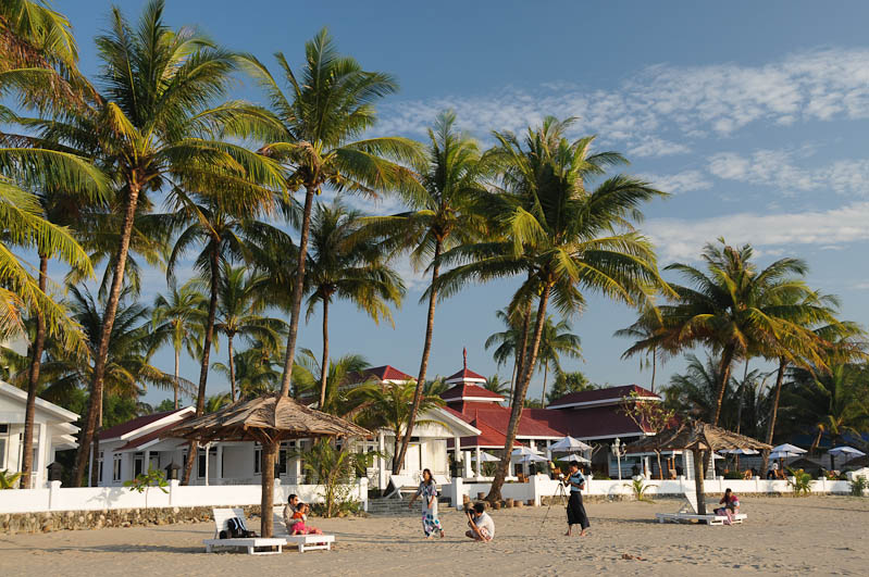 Chaung Tha Beach, Strand, Hotel, Resort, Unterkunft, guesthouse, room, Beachfront, Bungalow, accommodation, Myanmar, Burma, Birma, Golf von Bengalen, Urlaub, Reisebericht, www.wo-der-pfeffer-waechst.de