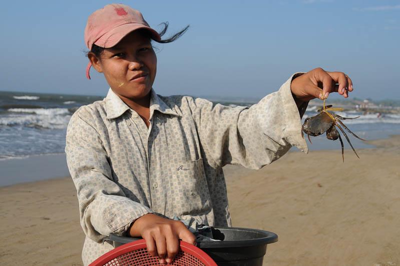 Chaung Tha Beach, Strand, Krabben, Myanmar, Burma, Birma, Golf von Bengalen, Reisebericht, www.wo-der-pfeffer-waechst.de
