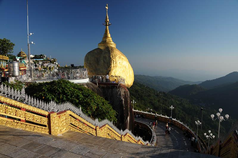 Golden Rock, Goldener Felsen von Kyaiktiyo, Kyaikhtiyo, heiliger Ort, Wahrzeichen, Myanmar, Burma, Birma, Pilgerfahrt, Pagode, Pagoda, Tempel, Reisebericht, www.wo-der-peffer-waechst.de