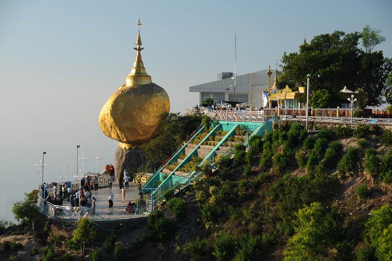 Golden Rock, Goldener Felsen von Kyaiktiyo, Kyaikhtiyo, letzter Blick, Myanmar, Burma, Birma, Pilgerfahrt, Pagode, Pagoda, Tempel, Reisebericht, www.wo-der-peffer-waechst.de